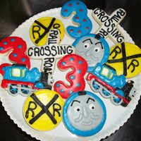 Thomas The Train Cookies