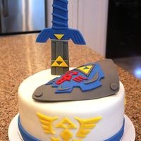 Legend Of Zelda Birthday Cake!