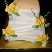 Calla Wedding Cake