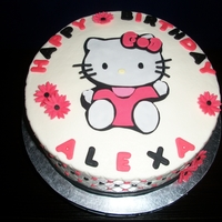 Hello Kitty Bday Cake