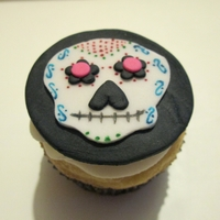 Day Of The Dead Cupcake Dia De Los Muertos