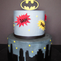 Birthday Cake For My Nephew Who Loves Batman Birthday cake for my nephew who loves Batman.