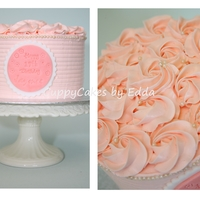Rosette And Pearls cookies and cream cake with IMBC, TFL
