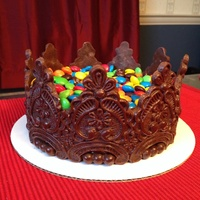Chocolate Crown M&m Cake
