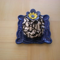 Mini Cake Personal cake with fondant flower