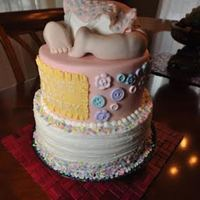 Baby Bunt Shower Cake