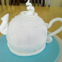 Teapot Cake I made this for my Mother's birthday. It didn't quite turn out as I had hoped, but for my first attempt, I'm really proud of...