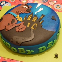 Scooby Dean Cake   Scooby Doo for Dean , marzipan