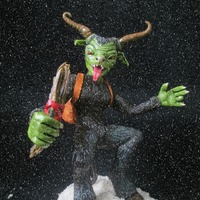 Krampus In Frostington I made this modeling chocolate Krampus (the companion to St. Nicholas in some European countries, who spirits the naughty children away in...