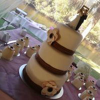 1St Wedding Cake 1st Wedding Cake :)