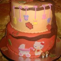 Hello Kitty Hello Kitty fall baby shower. Such an odd combination, but I think it came out ok.