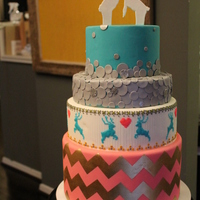 Ski Resort Wedding Glitzy Ski Resort-themed wedding cake. Inspired by Charm City Cakes Summer 2012 collection.