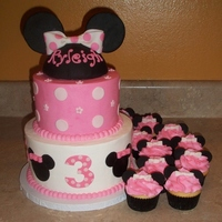 Minnie Mouse Cake Smalljpg