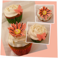 Pumpkin Cupcakes With Honey Buttercream Fondant Accents Ribbons Are Sprinkles Tfl Pumpkin cupcakes with Honey buttercream. Fondant accents (ribbons are sprinkles) TFL!