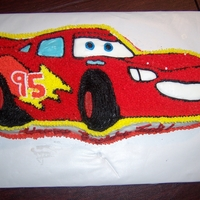"Lightning Mcqueen Birthday Cake This cake was completely Gluten and Allergy Free. The best ""payment"" for it was seeing the little birthday boy's face when..."