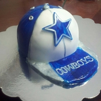 Dallas Cowboys Hat Made this for my husband's friend for his birthday.