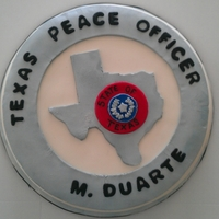 Peace Officer Badge Replica of the Grooms badge