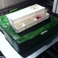 Tackle Box Progress shot of my tackle box, all edible