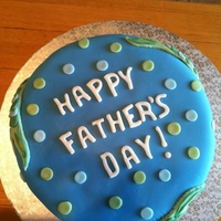 Father's Day Fish Cake
