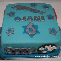 Car Logo's Cake A Car Logo's cake, with logo's all around for Ojani 6th birthday