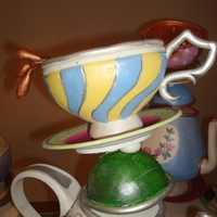 Wrong Alice Teapot