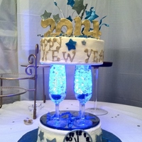 New Years Eve Party Cake Inspired By Many In The Gallery Cakes Are Buttercream Amp Decorations 5050 Gumpaste Champagne Glasses Are *New Years Eve party cake - inspired by many in the gallery. Cakes are buttercream & decorations 50/50 gumpaste. Champagne glasses are...