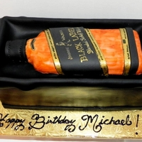 Black Label Lover Thanks to ostoro for inspiration! Bottle is made of RKT covered in fondant and the sides of the box are gumpaste. TFL!
