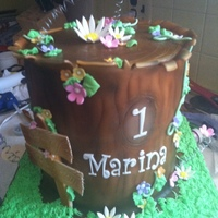 Tree Trunk First attempt making this kind of cake! love it! ;)