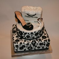 First Shoe Cake
