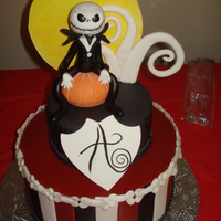 Jack Skellington This was for a boys 15th birthday party theme. It turned out great!