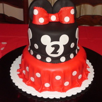 Minny Mouse I made this one for my niece 2nd bday ..... thank for the inspiration twinlilsesny03