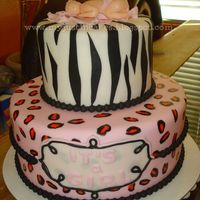 Baby Shower Zebra & Cheetah