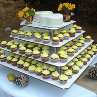 Wedding Cupcake Tree Cake
