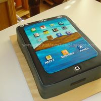 3D Ipad Cake Everything Is Edible   3D Ipad Cake, everything is edible ;)