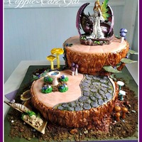 Fairy Tree Wedding Cake