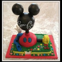 Mickey Mouse Club House Cake!