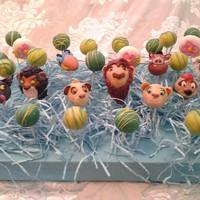 Lion King Cake Pops *