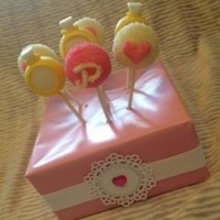 Rings Hearts And Initial Pops Made As Favorscenter Pieces For A Bridal Shower These Went With The Ring Box Cake I Posted Earlier The Sta Rings, hearts and initial pops made as favors/center pieces for a bridal shower. These went with the ring box cake I posted earlier. The...
