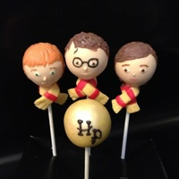 Harry Potter Cake Pops These Were A Big Big Hit Harry potter cake pops! These were a big big hit!