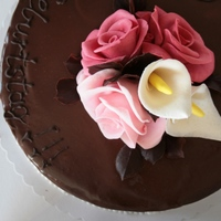 Chocolate & Flowers by www.tortenstube.at