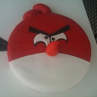 Angry Birds Bday Cake