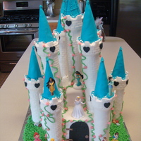 Disney Princess Castle I made this for my best friends 4 year old cousin who just recently visited Disney World for the first time and fell in love with it so I...