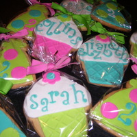 Cupcake & Party Hat Cookies