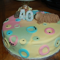 1970 Inpired40Th B Day Cake captain caveman and dougal 1970s inspired cake for friens 40th