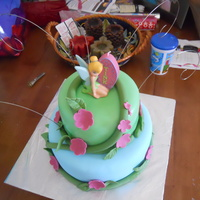 Tinker Bell I made this Tinker Bell cake for my daughter Winona's 4th birthday