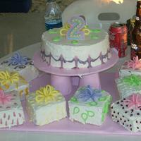 Noni's 2Nd Birthday Cake Made this for my daughter's second birthday. Got the idea offline. This was one of my first cakes so excuse the mess. Pretty bad I...