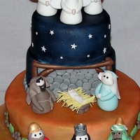 Nativity Got the idea for this cake from quite a few CC people. Thanks for the idea!!