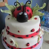 Ladybug Baby Shower   Inspired by the cakes here on CC.