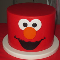Elmo Cake This cake was for my daughter's 2nd birthday.