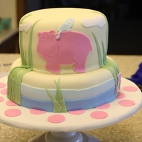 Granddaughters 1St Birthday Cake